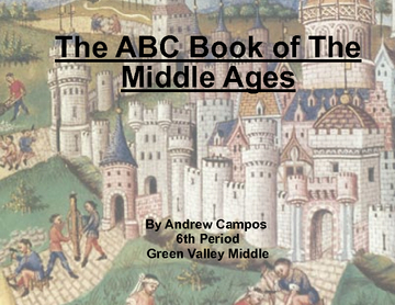 The ABC Book of The Middle Ages