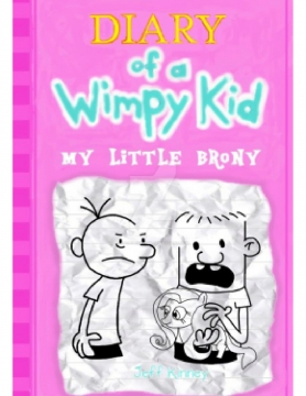 My Little Brony Diary Of A Wimpy Kid