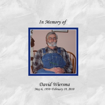 Memories of David--Softcover