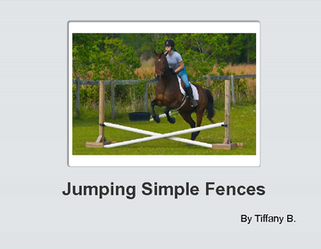 Jumping Simple Fences
