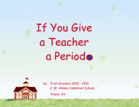 If You Give a Teacher a Period