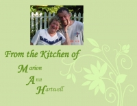 From the Kitchen of Marion Ann Hartwell