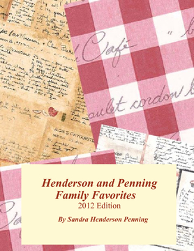 Henderson and Penning Family Favorites