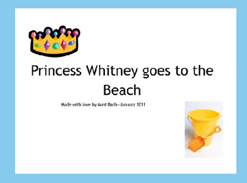 Princess Whitney Goes To The Beach