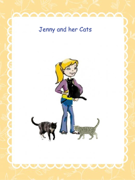 Jenny and her Cats