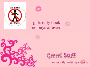 Girls only book