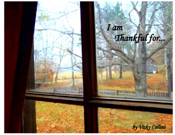 I Am Thankful For ...