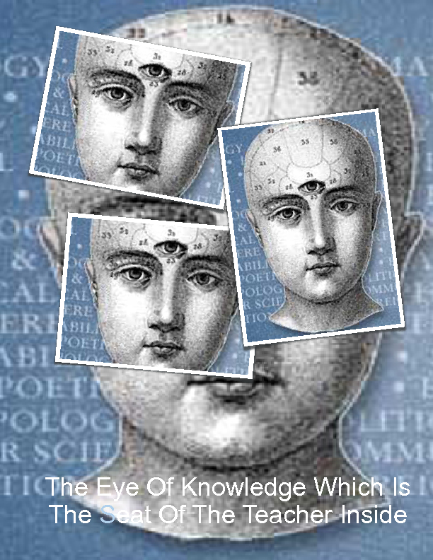 The Seat Of Knowledge : The eye of knowledge which is seat teacher