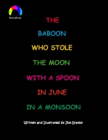 The baboon who stole the moon...