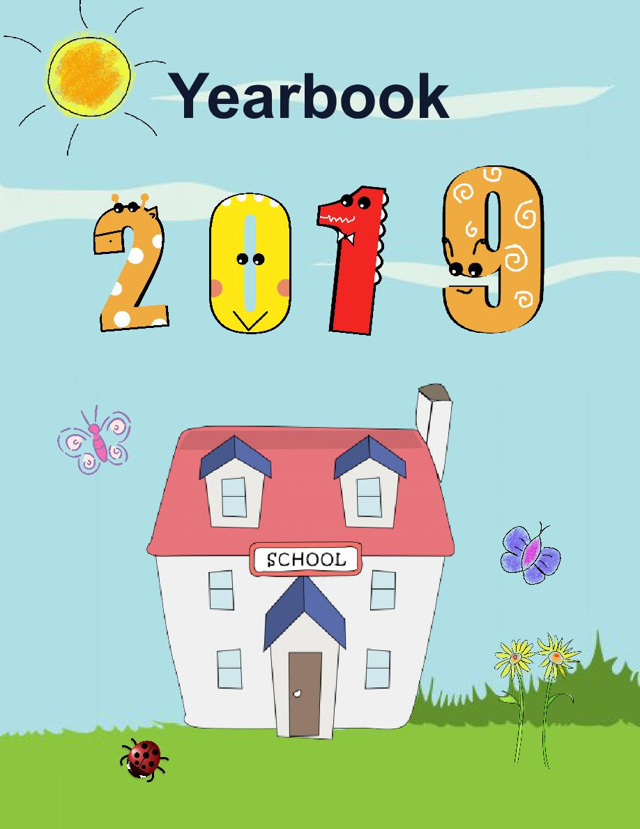 yearbook templates 8 5x11