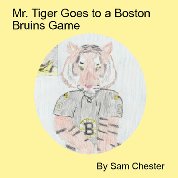 Mr. Tiger goes to a Hockey Game