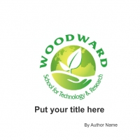 Woodward School for Science and Technology- A Sustainability Magnet for Sustainable living
