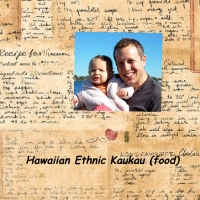 Hawaiian Ethnic Kaukau (food)