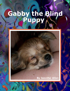Gabby the Blind Puppy