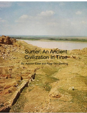 Sumer: An Ancient Civilization in Time