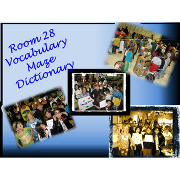 Room 28 Vocabulary Maze Dictionary