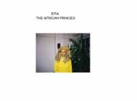 Efia The African Princes