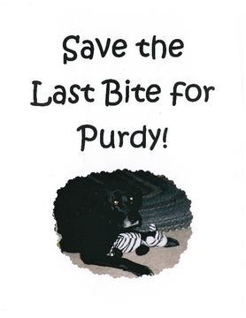 Save the Last Bite for Purdy!