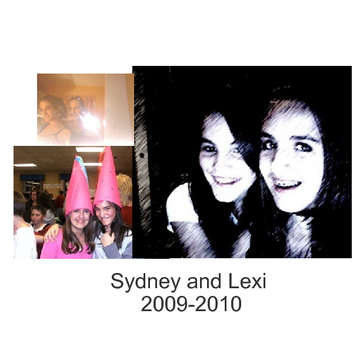 Sydney and Lexi scrapbook