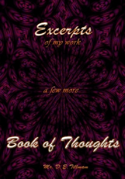 Excerpts of my work -- Book of Thoughts