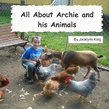 All About Archie and his Animals