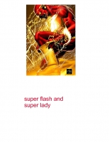 super flash and super lady