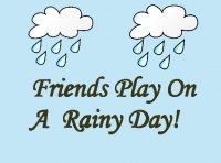 Friends Play On A Rainy Day!