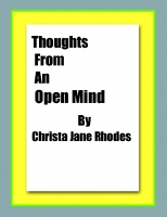 Thoughts From An Open Mind