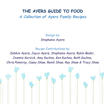 The Ayers Guide to Food