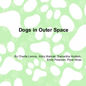 Dogs In Outer Space