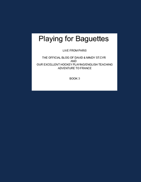 Playing For Baguettes - Book 3