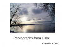 PHOTOGRAPHY FROM OSLO