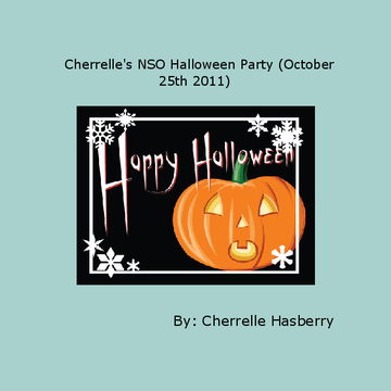 Cherrelle's NSO Halloween Party (October 25th 2011)