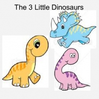 The 3 Little Dinosaurs