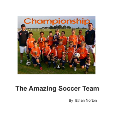 The Amazing Soccer Team