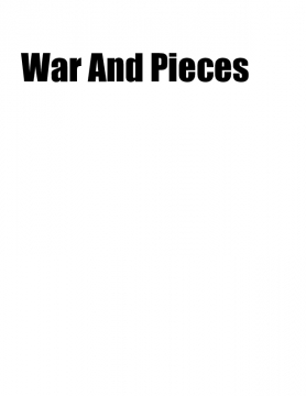war and peices