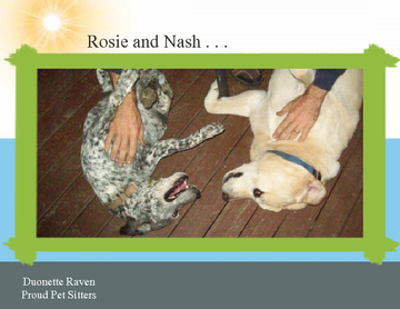 Nash and Rosie