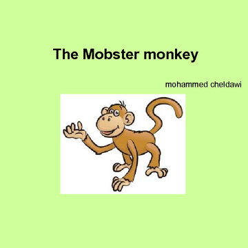 The Mobster monkey