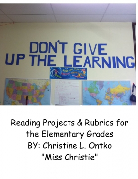 Reading Projects for Elementary Grades 3-6