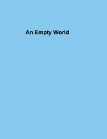 An Empty World