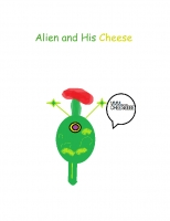Alien & his Cheese