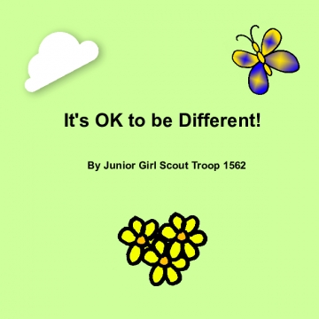 It's OK to be Different!