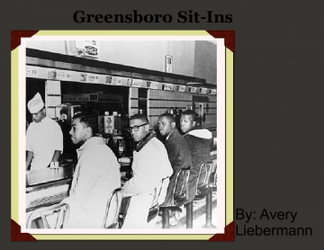 The sit-ins of Greensboro