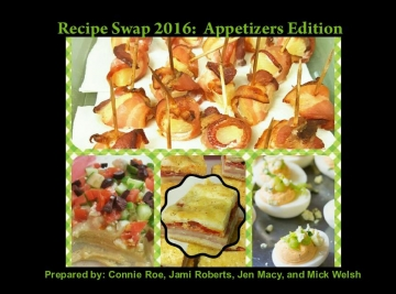 2016 Recipe Swap - Appetizers Edition
