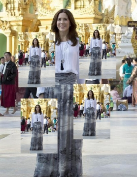 HRH Crown Princess Mary  Of Denmark Visits Tajikistan.