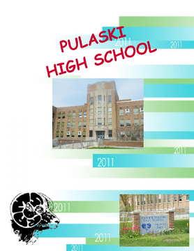 Pulaski High School Yearbook 2011