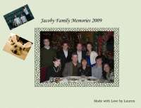 The Jacoby Family Book of Memories 2009