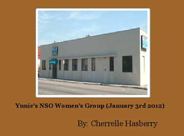 Yunie's NSO Women's Group (January 3rd 2012)