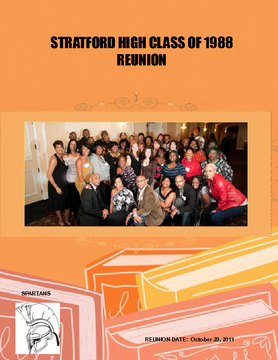 STRATFORD HIGH CLASS OF 1988 REUNION