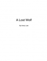 A Lost Wolf
